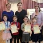 Награждение детей за участие в конкурсе...